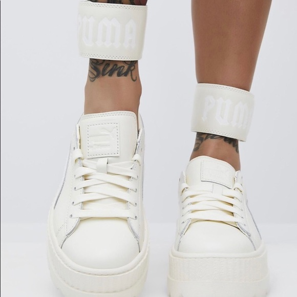 Puma Fenty x Rihanna Creeper Ankle Strap Shoes 7.5 892fd5d3b